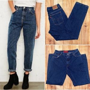 Levi's Vintage 550 Classic Relaxed Jeans |Size 14